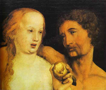Adam and Eve (1517, Holbein)